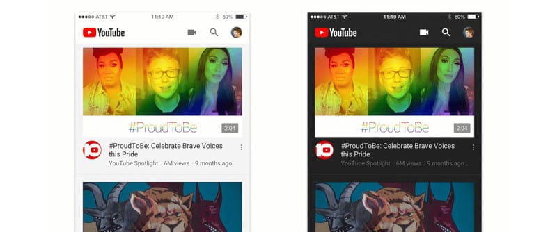 YouTube Dark Mode - YouTube For iOS and Android Is Getting A Dark Mode