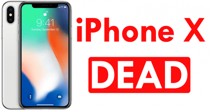 Apple's Super-Expensive iPhone X Will Be 'Dead' This Year