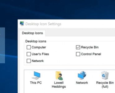 How to Delete or Hide the Recycle Bin in Windows 7, 8, or 10