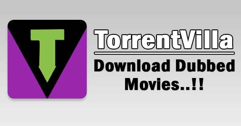 Download Dubbed Movies - TorrentVilla - A torrent search engine