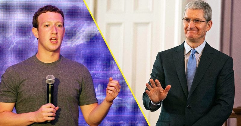 Facebook Founder Mark Zuckerberg Fires Back At Tim Cook