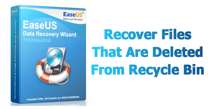 How To Recover Files That Are Deleted From Recycle Bin
