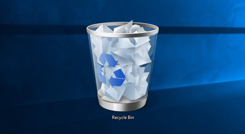Check Your Recycle Bin