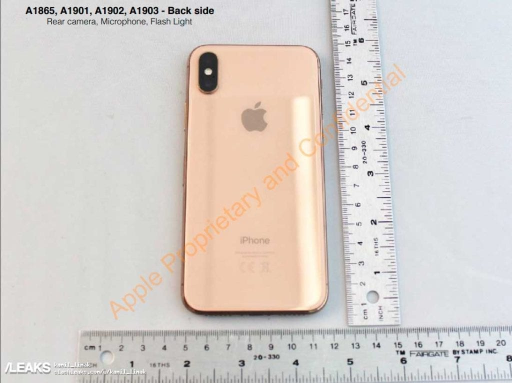 IMG 4 1024x766 - WoW! iPhone X In Gold Revealed By FCC