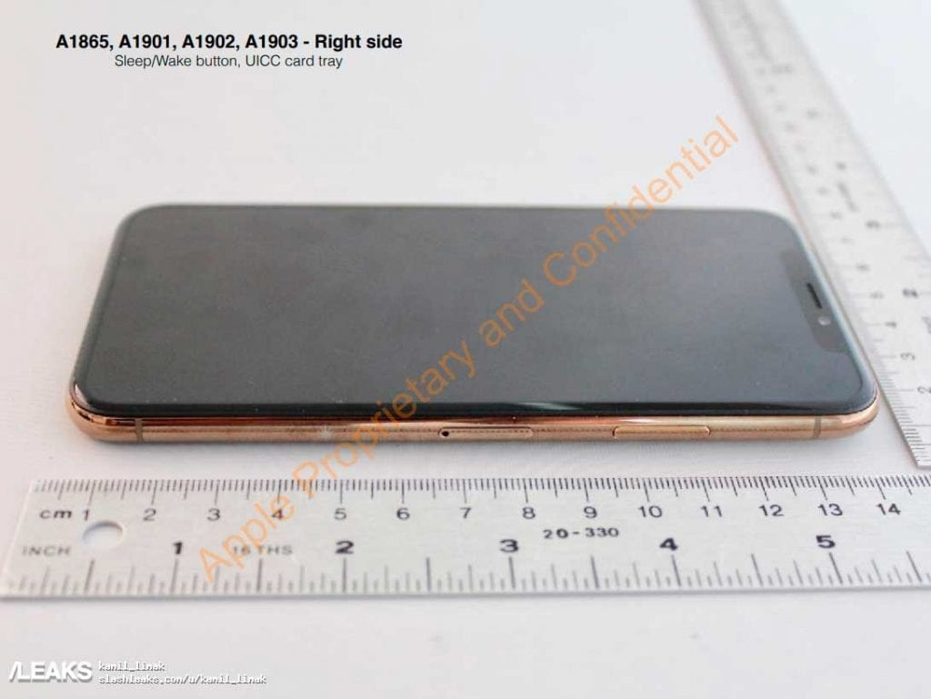 IMG 5 1024x769 - WoW! iPhone X In Gold Revealed By FCC