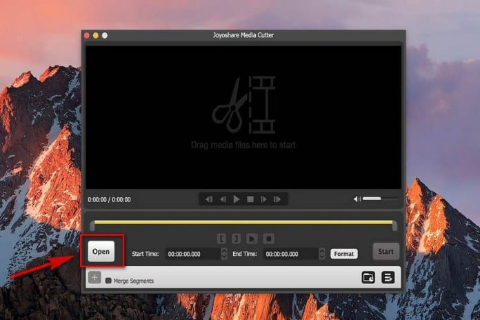 Joyoshare 1 - Joyoshare Media Cutter for Mac: A Convenient Media Cutter For Mac