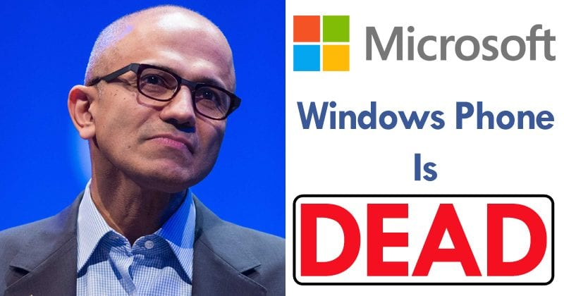 Microsoft: No More Windows Phones Left