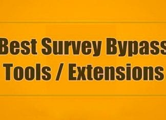 Best Survey Bypass Tools/Extensions 2019