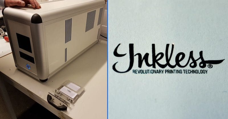 This Startup Has Developed An Inkless Printer