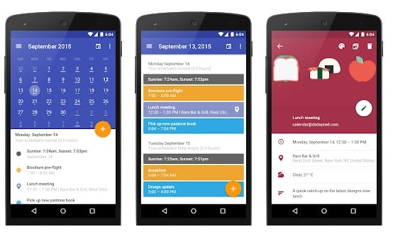 Today Calendar - Top 25 Must-Have Productivity Apps For Your Android