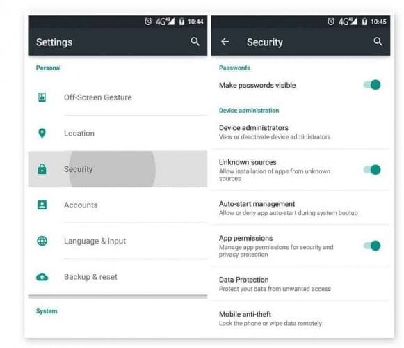 Unknown sources 1 1 - Eset Mobile Security & Antivirus APK Latest Version Free Download 2019