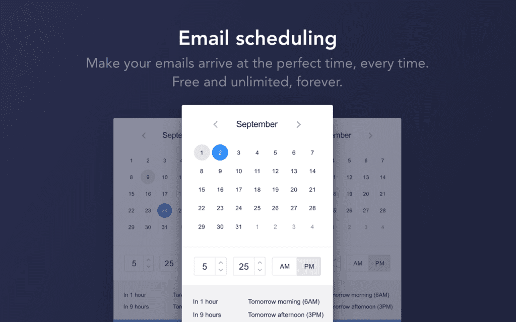 Unlimited Email Scheduling Free 1 1 1024x640 - MailTag: Real-time Email Tracking is Now More Easier