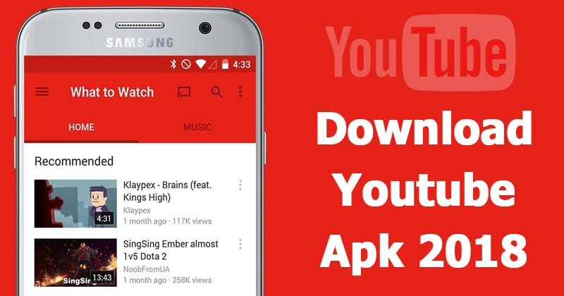 YouTube 13.19.58 APK Latest Version Free Download 2019