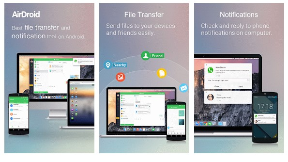 best file transfer app for android to android