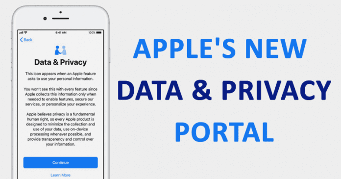 Apple's New Data & Privacy Portal Lets Users Download Stored Personal Data