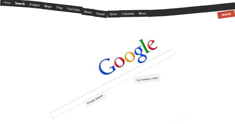 Best Google Gravity Tricks 2018
