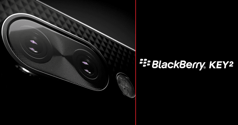 BlackBerry KEY2 Official Teaser Video Reveals A Mysterious Button