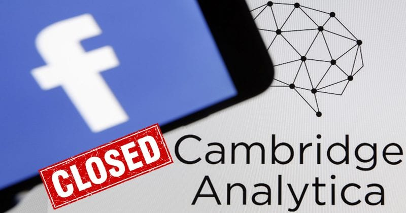 Cambridge Analytica Shuts Down After Facebook Data Leak