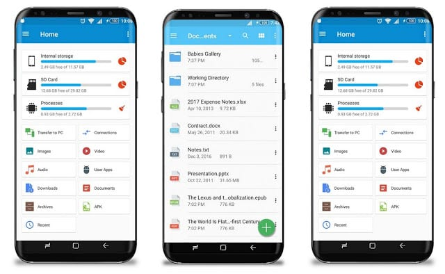 Download & Install GiGa File Manager Apk On Android