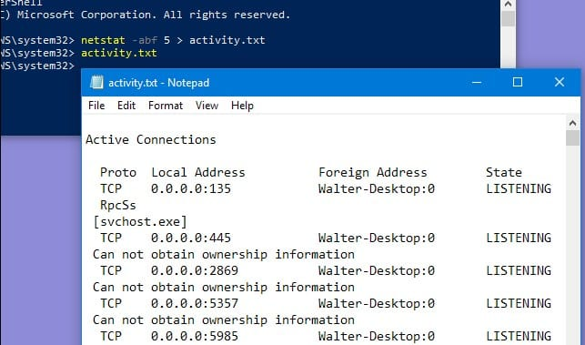 How to Uncover Unauthorized Connections Your Windows Computer is Making