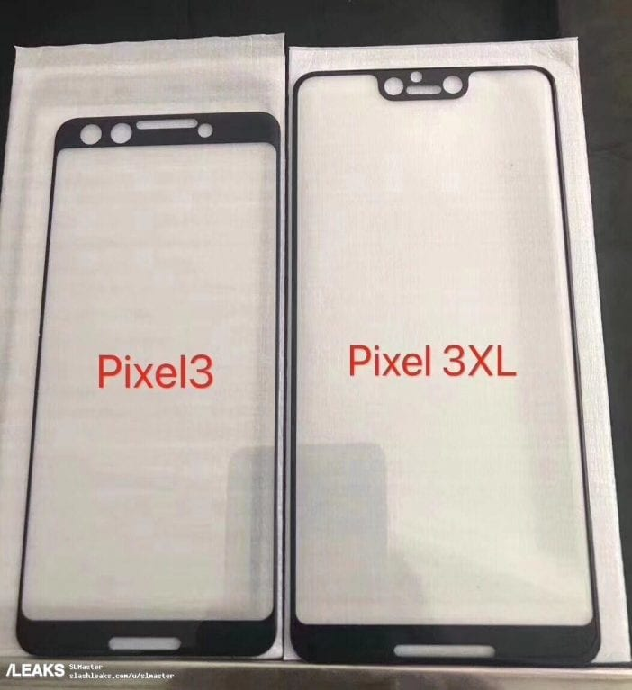 Google Pixel 3 XL: New leaked photos reveal a major design overhaul