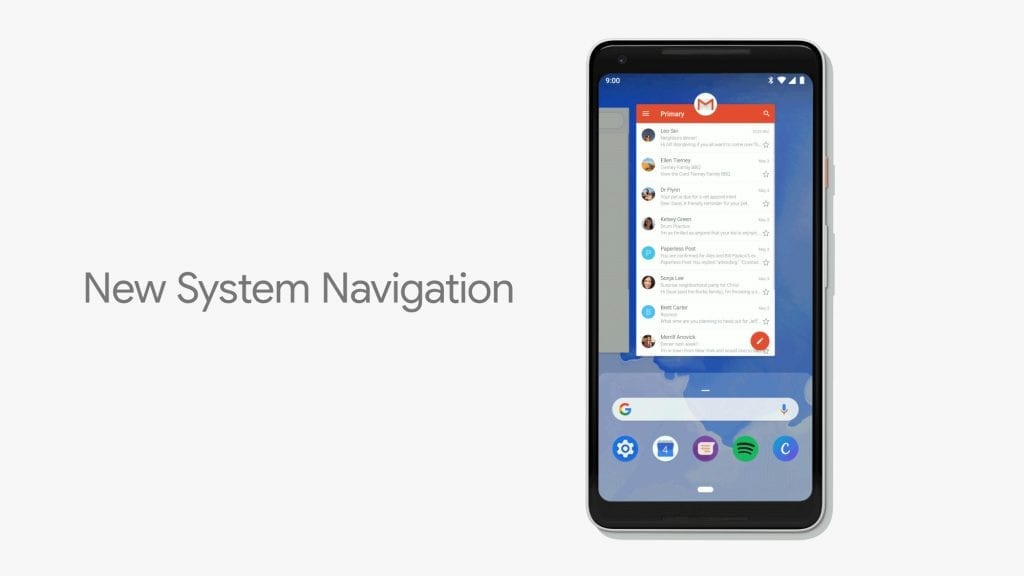 IMG 1 5 1024x576 - Android P Gets iPhone X-Inspired Gesture Navigation
