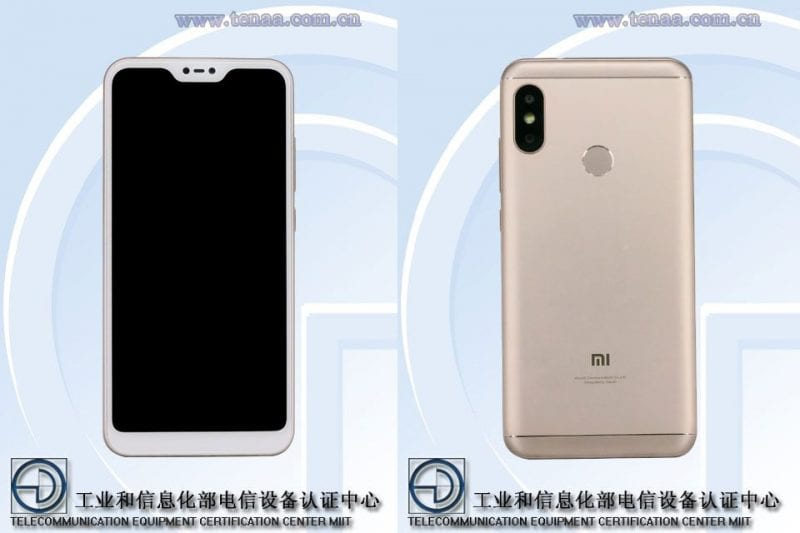 IMG 1. - Alleged Xiaomi Redmi 6 With Notch Appears In Leaked Photos
