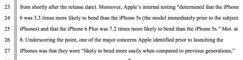 IMG 2 7 - Apple Knew That The iPhone 6 Would Bend, But Lied About It