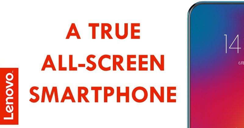 Lenovo Teases A True All-Screen Smartphone
