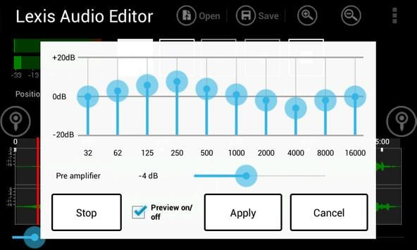 audio editor for android free download