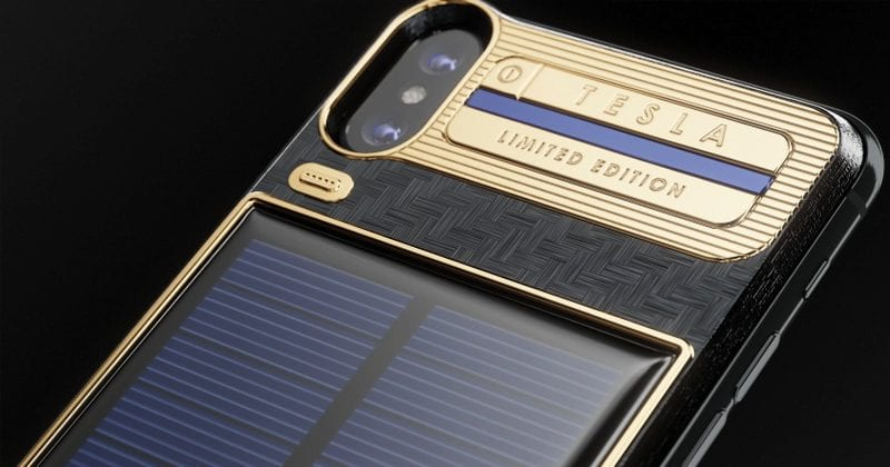 Meet The $4,500 'iPhone X Tesla' With A Solar Panel