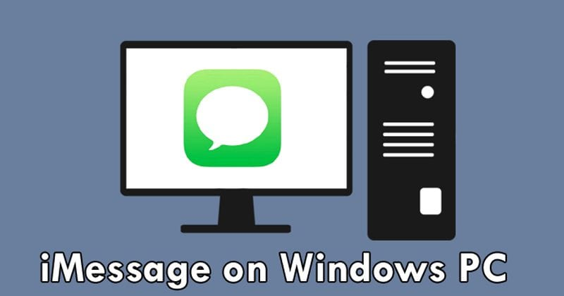 Microsoft Wants To Bring iMessage To Windows