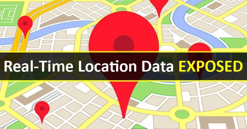 OMG! Real-Time Location Data Of Nearly All US Smartphone Users Exposed