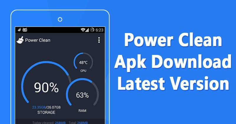 Power Clean Apk 2.9.9.19 Free Download For Android 2019