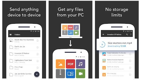 best free file sharing app