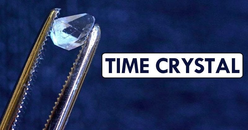 Scientists Found 'Time Crystal' In The Unlikeliest Place
