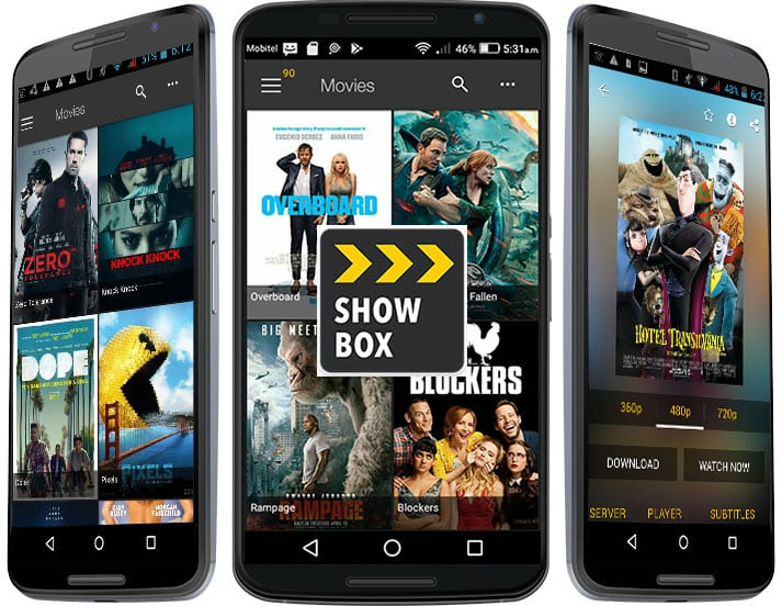 Showbox 1 - 30 Best Android Apps Not on Google Play Store of 2019