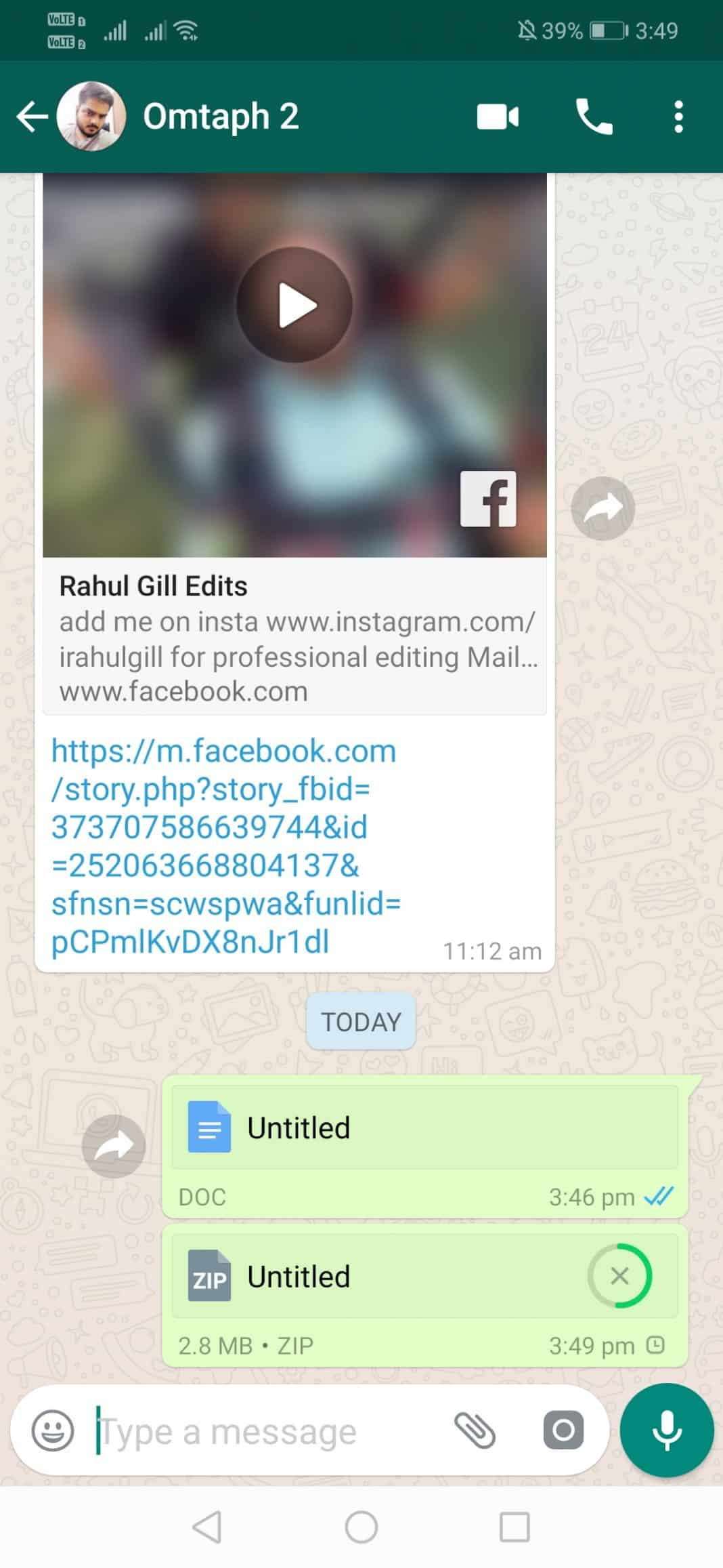 Send Pictures on WhatsApp Without Compression