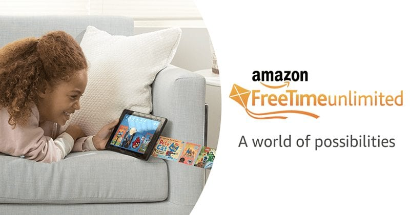 Amazon Just Launched Its New FreeTime Unlimited Application