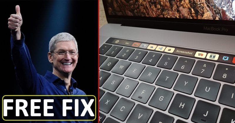 Apple Will Fix Your Faulty MacBook & MacBook Pro Keyboards For Free