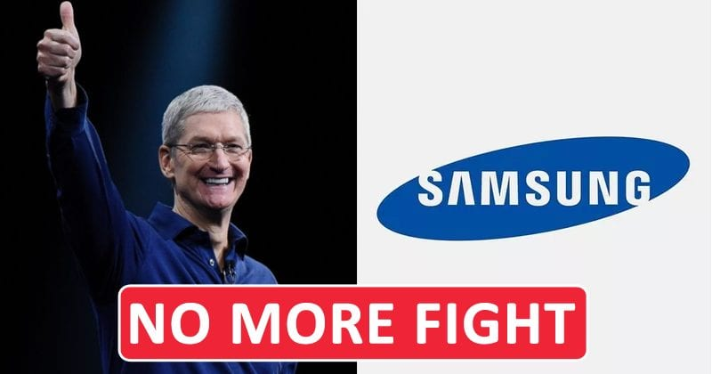 Apple & Samsung Finally Settle Their Seven-Year-Long Patent Fight