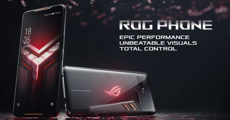 Asus ROG Phone - Snapdragon 845 SoC, 3D Vapour-Chamber Cooling, 512GB Storage