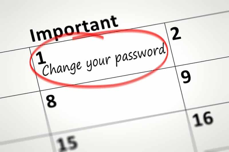 Change Your Passwords
