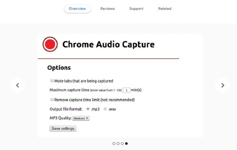 audio downloader extension