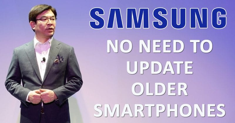 Court - Samsung Doesn't Need To Update Older Smartphones