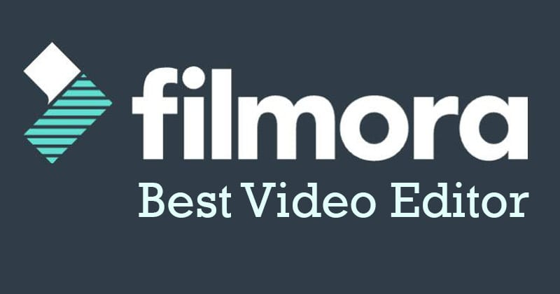 Filmora Video Editor - The Best Video Editing Tool For Windows 10