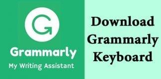 Grammarly Keyboard APK Latest Version Free Download 2018