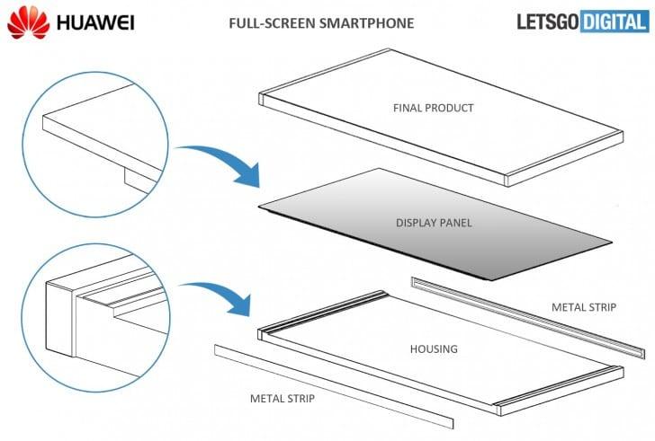IMG 3 5 - Huawei Mate 20 Leaks In Real-Life Image & Sketch