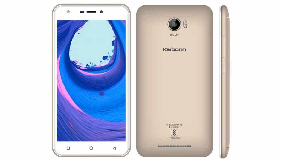 Karbonn K9 Viraat 4G - Top 10 Best Android Phones To Buy Under Rs 5,000