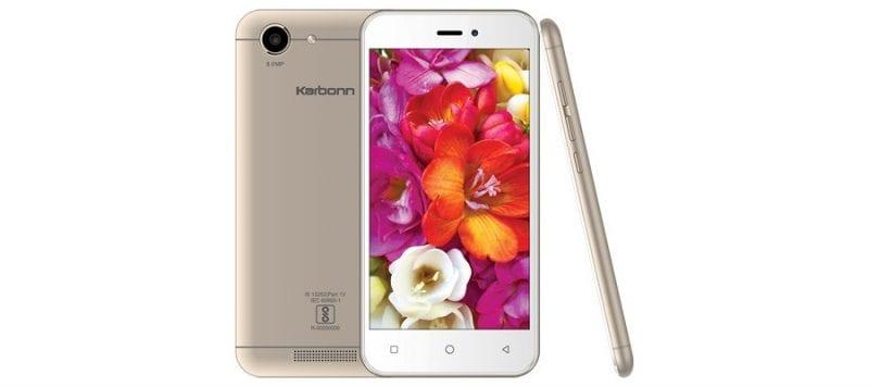 Karbonn Titanium Vista 4G - Top 10 Best Android Phones To Buy Under Rs 5,000